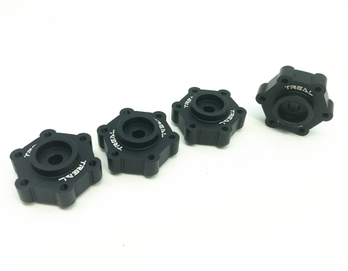 Treal Aluminum 7075 Wheel Hubs Spacers +0mm for Losi LMT